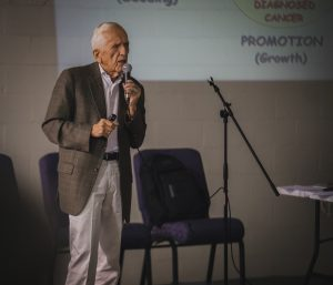 Dr. T Colin Campbell at Charlotte Vegfest 2018